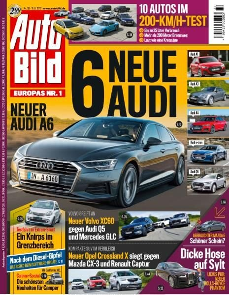 Download Auto Bild Schweiz – 11 August 2017