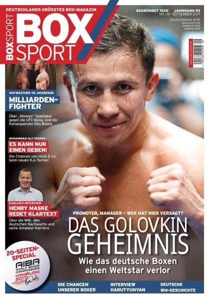 Download BoxSport — September 2017