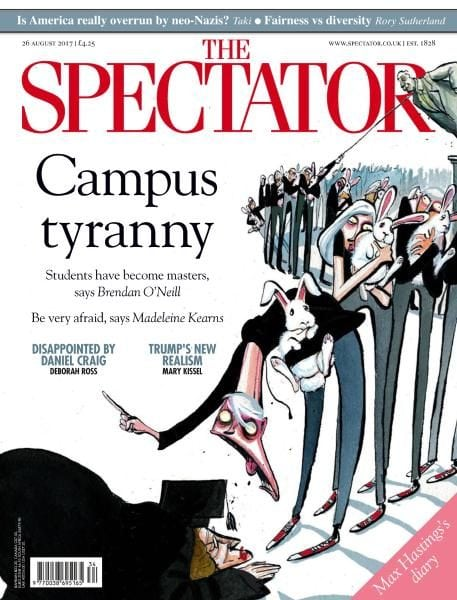 Download The Spectator — 26 August 2017