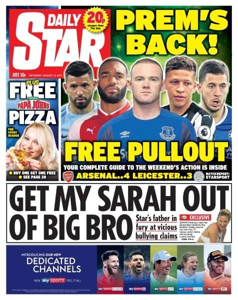 Download Daily Star — 12 August 2017