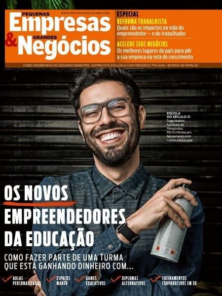 Download Pequenas Empresas & Grandes Negócios Brazil — Agosto 2017