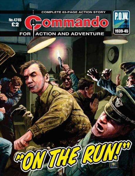 Download Commando 4745 — On The Run!