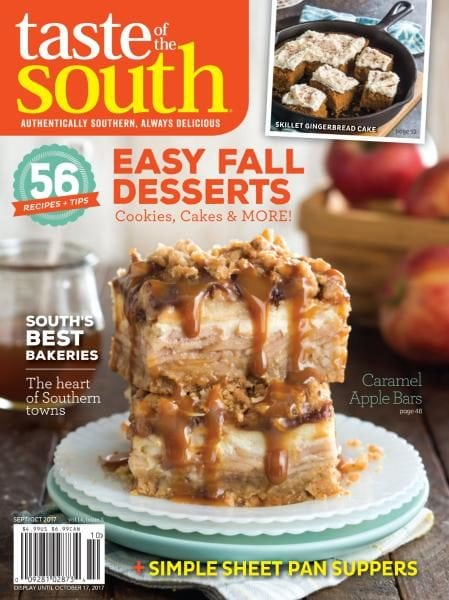 Food cooking magazines pdf download online recipes magazine taste of the south september october 2017 forumfinder Choice Image