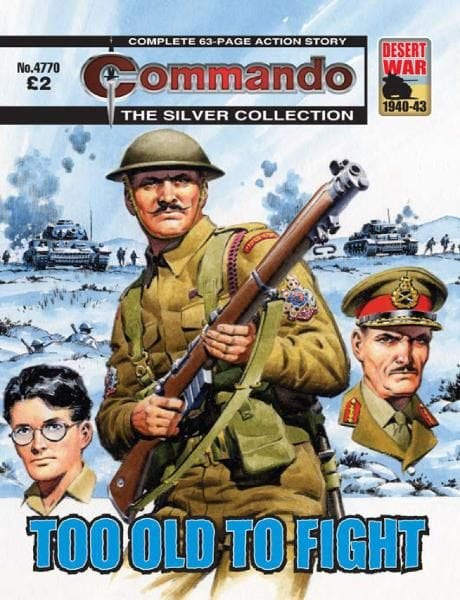 Download Commando 4770 — Too Old To Fight