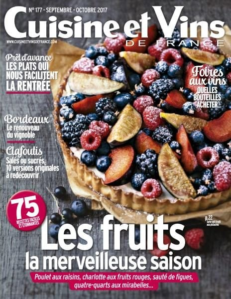 Cuisine et vins de france septembre octobre 2017 pdf download free - Cuisine de saison septembre ...