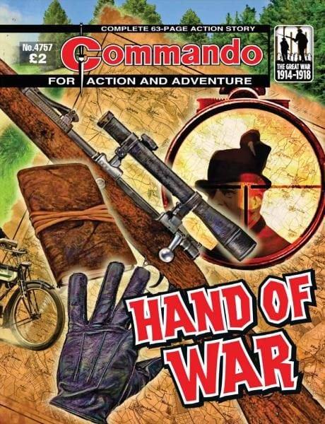 Download Commando 4757 — Hand of War