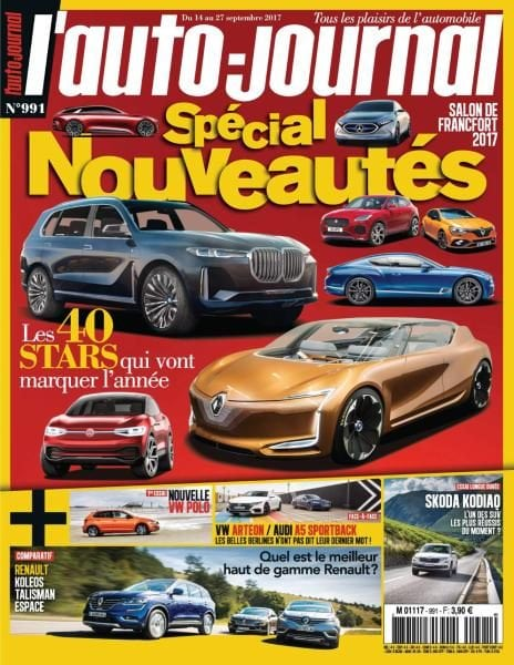 l auto journal 14 au 27 septembre 2017 pdf download free. Black Bedroom Furniture Sets. Home Design Ideas
