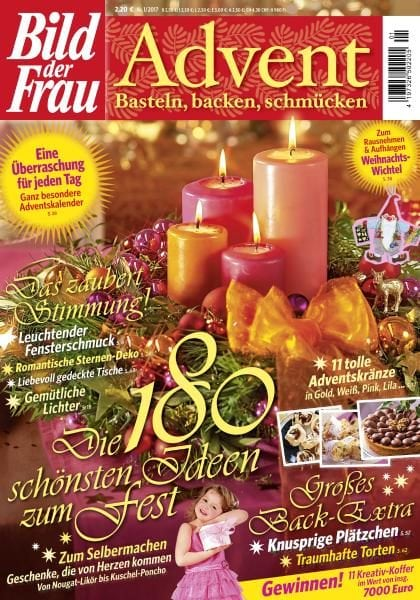 bild der frau advent nr 1 2017 pdf download free. Black Bedroom Furniture Sets. Home Design Ideas