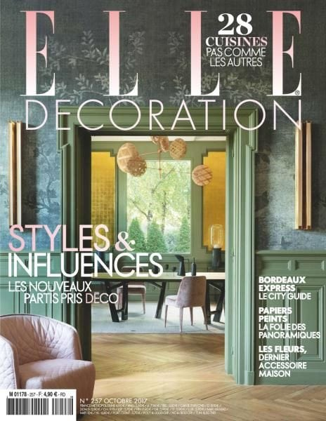 elle d coration france octobre 2017 pdf download free. Black Bedroom Furniture Sets. Home Design Ideas