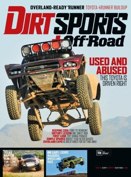 Dirt Sports + Off-road — December 2017