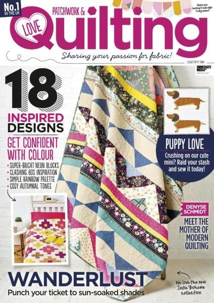 Download Love Patchwork & Quilting — Issue 52 2017