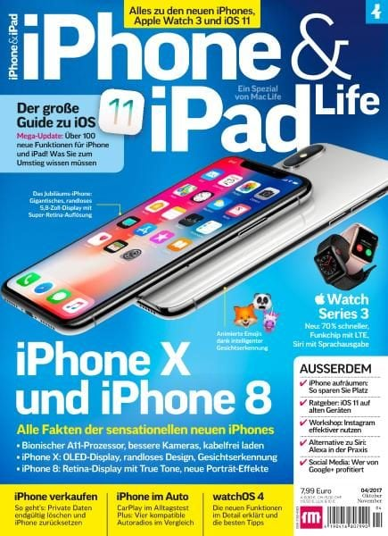 Download iPhone & iPad Life Nr.4 — Oktober-November 2017