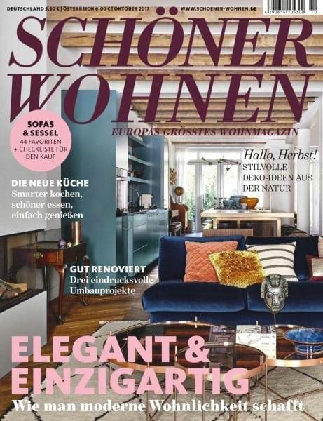sch ner wohnen oktober 2017 pdf download free. Black Bedroom Furniture Sets. Home Design Ideas