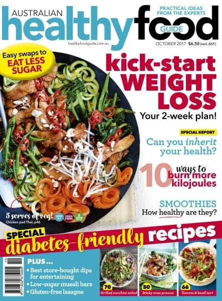 Australian healthy food guide october 2017 pdf download free for Cuisine good food guide 2017