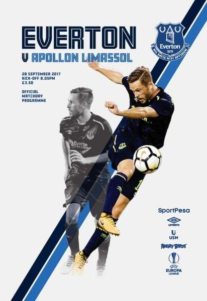 Download Everton Programmes — 28 September 2017