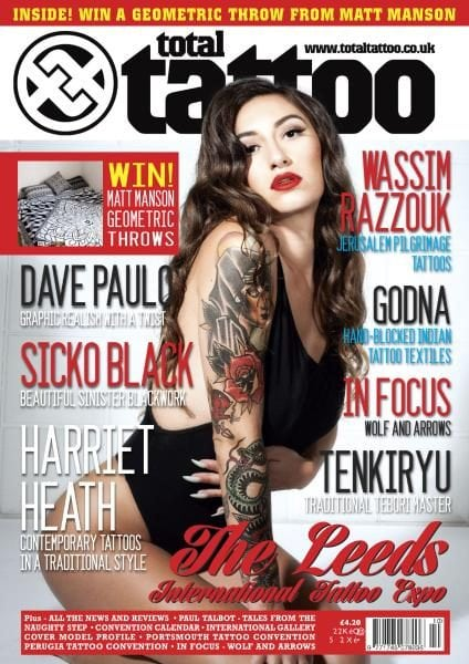 Download Total Tattoo — Issue 156 — October 2017