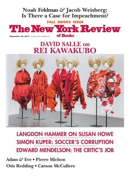 Download The New York Review of Books — September 28, 2017
