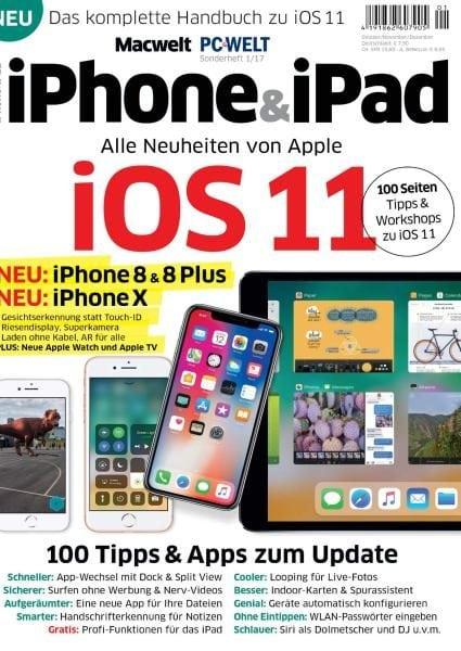 Download PC-Welt Sonderheft iPhone & iPad Nr.1 — Oktober-Dezember 2017