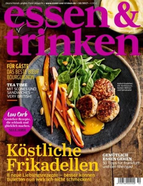 Zeitschrift Essen Und Trinken essen trinken oktober 2017 pdf free
