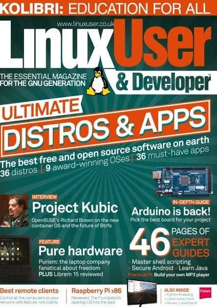 Download Linux User & Developer — Issue 183 2017
