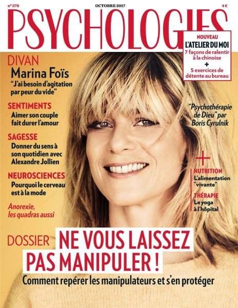 Download Psychologies France — Octobre 2017