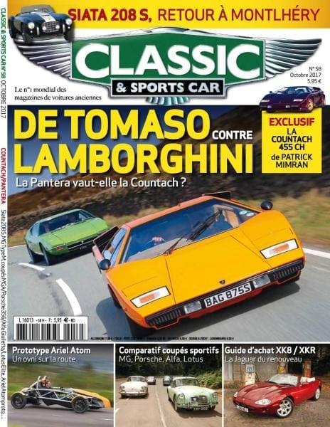 classic sports car france octobre 2017 pdf download free. Black Bedroom Furniture Sets. Home Design Ideas