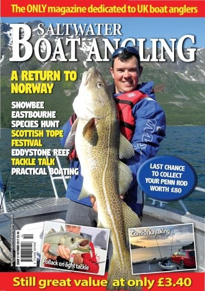 Saltwater boat angling october 2017 pdf download free for Saltwater fishing magazines