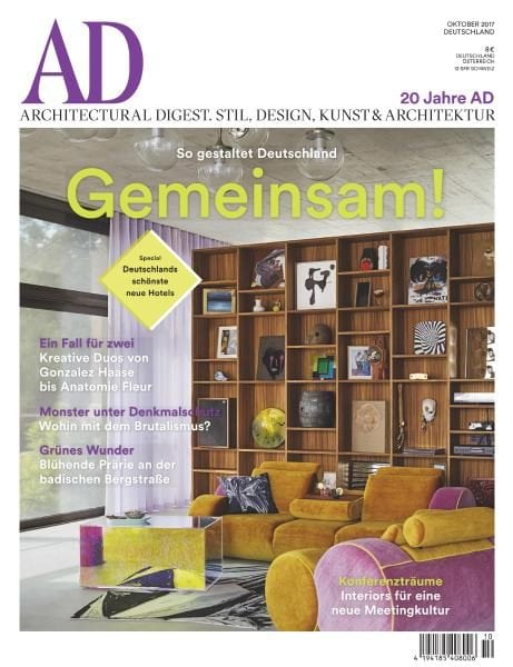 ad architectural digest germany oktober 2017 pdf download free. Black Bedroom Furniture Sets. Home Design Ideas