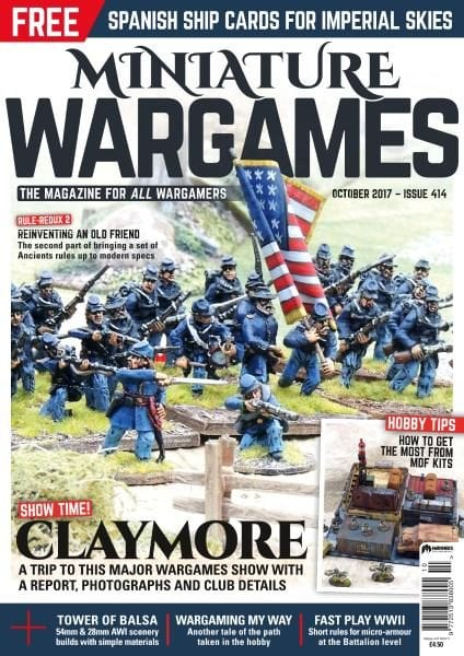 Miniature Wargames — October 2017