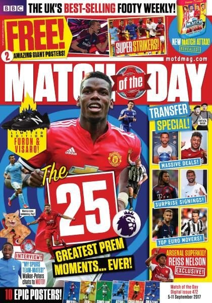 Download Match of the Day — Issue 472 — 5-11 September 2017