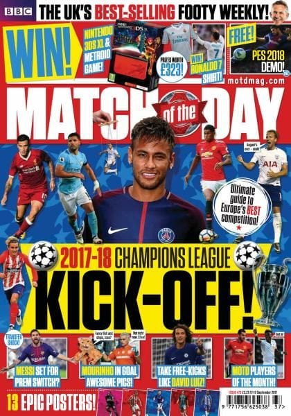 Download Match of the Day — Issue 473 — 12-18 September 2017