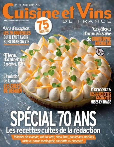 Cuisine et vins de france novembre 2017 pdf download free for Cuisine et vins de france