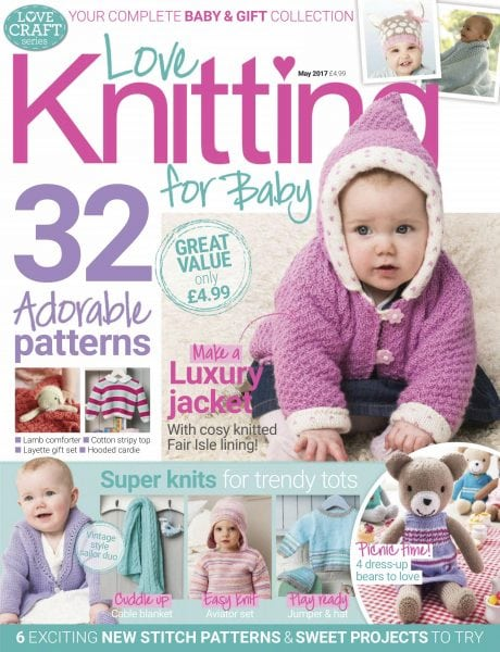 Knitting For Babies Magazine : Love knitting for babies may pdf download free