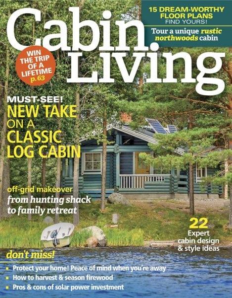 Cabin Living U2014 October November 2017