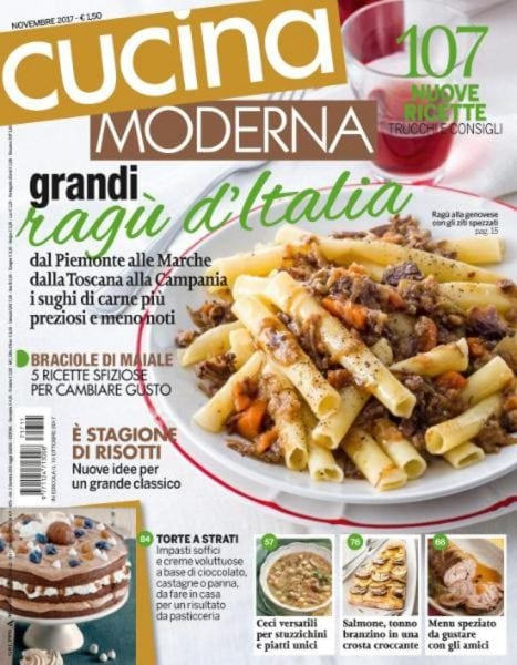 Cucina moderna novembre 2017 pdf download free for Cucina moderna magazine