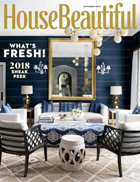 Download House Beautiful USA — November 2017