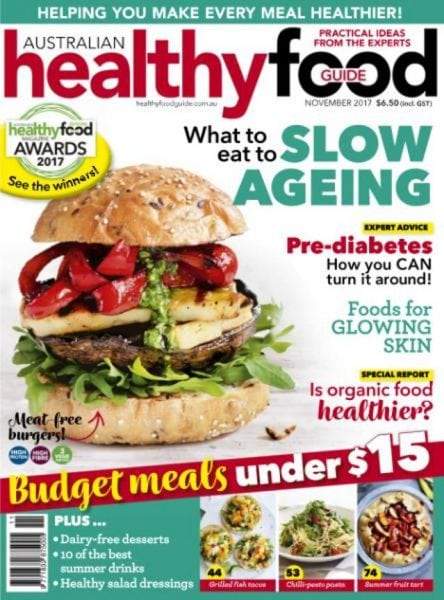 Australian healthy food guide november 2017 pdf download for Cuisine good food guide 2017