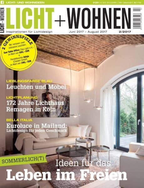 licht und wohnen juni august 2017 pdf download free. Black Bedroom Furniture Sets. Home Design Ideas