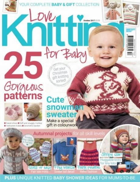 Download Love Knitting for Baby — October 2017