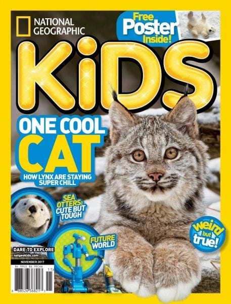 Download National Geographic Kids USA — November 2017