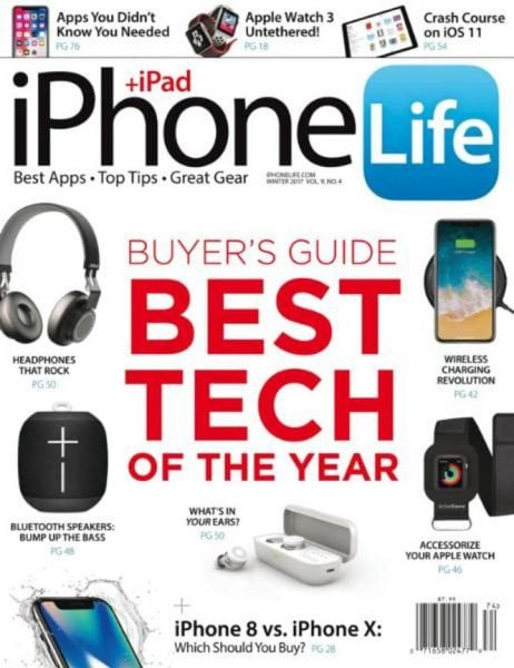 Download iPhone Life — Winter 2017