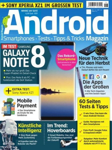 Download Android Magazin — November-Dezember 2017
