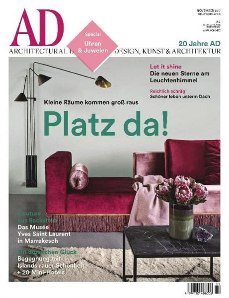 ad architectural digest germany novemberdezember 2017 pdf download free. Black Bedroom Furniture Sets. Home Design Ideas