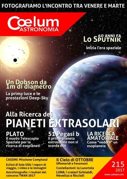Download Coelum Astronomia — Numero 215 2017