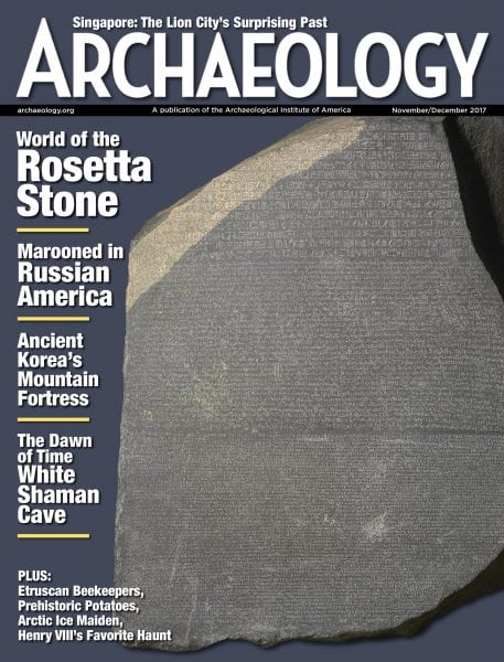 Download Archaeology Magazine — November-December 2017