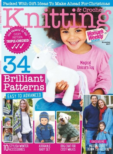 Download Knitting & Crochet from Woman's Weekly — November 2017