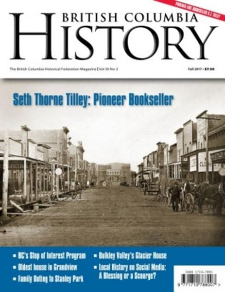 Download British Columbia History — Fall 2017