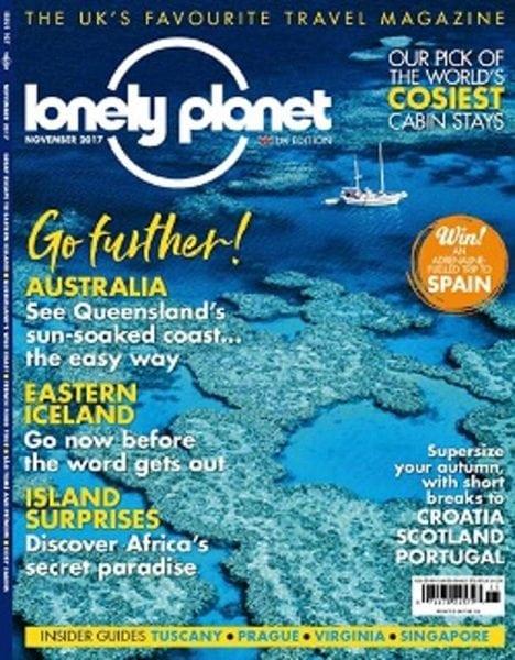 Download Lonely Planet Traveller UK — November 2017