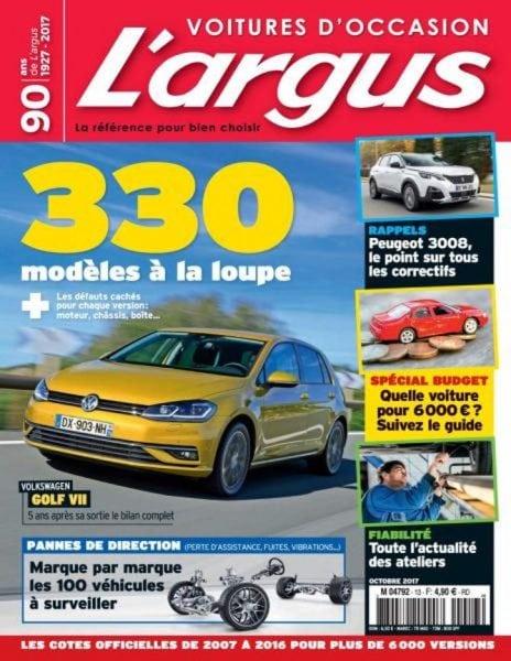 argus automobile france gratuit