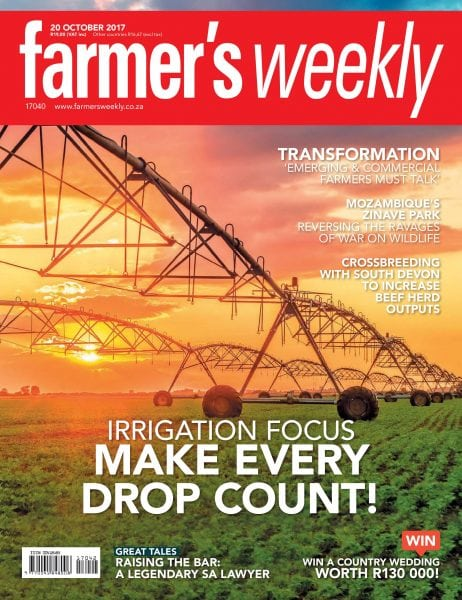 Download Farmer's Weekly — 20 October 2017